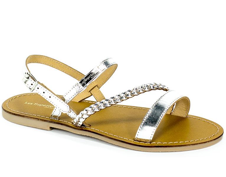 Sandały Les Tropeziennes 19002 Silver