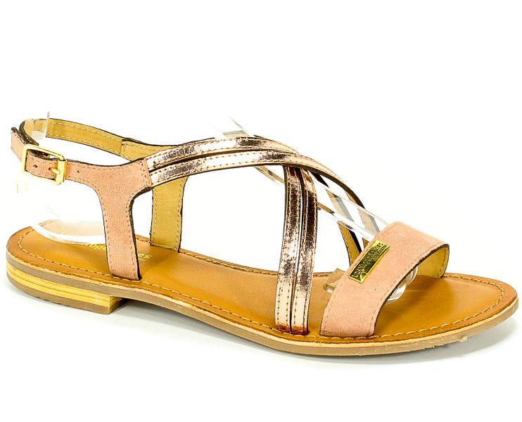 Sandały Les Tropeziennes 19229 Pink/Pink Gold