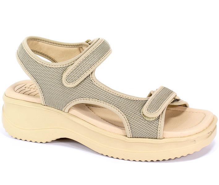 Sandały Azaleia 320 323 Beige W/Sand