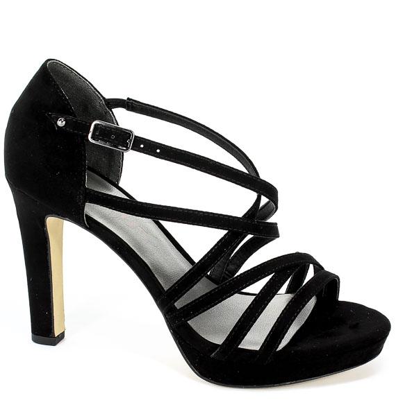 Sandały Tamaris 1-28038-32 007 Black Uni