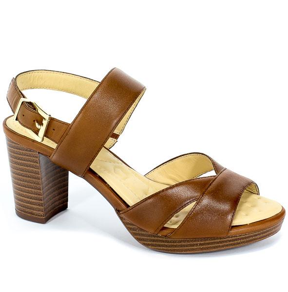Sandały Caprice 9-28321-32 303 Cognac Nappa