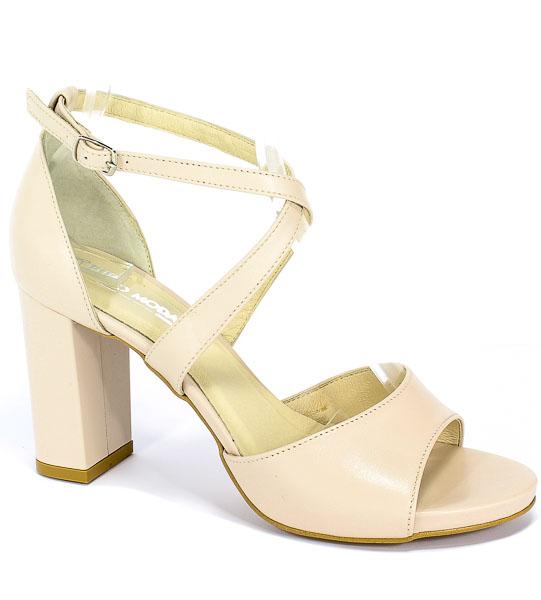 Sandały Euro Moda Ro 453 Beż