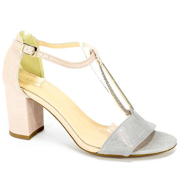 Sandały Uncome 24096 Grigio/Rosa