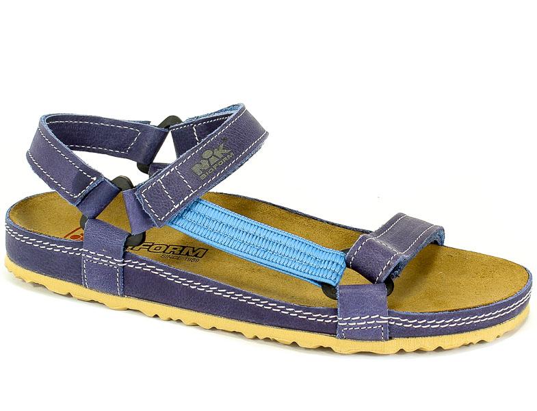 Sandały Nik 07-0090-01-9-11-03 Niebieski
