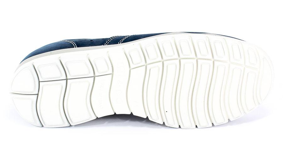 Półbuty Igi&Co 3118100 Nabuk Morbido/Azzurr