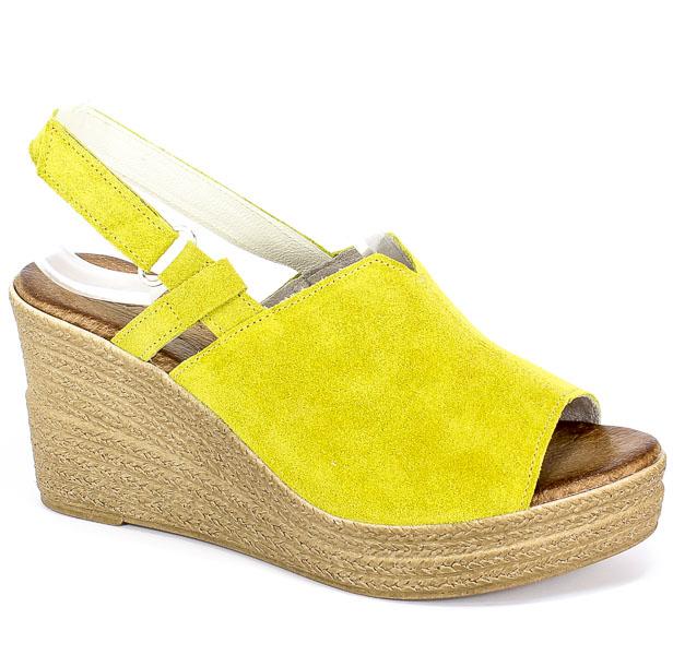 Sandały Blu... 4026 Lemon W