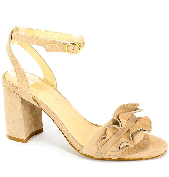Sandały Uncome 28115 Pudra