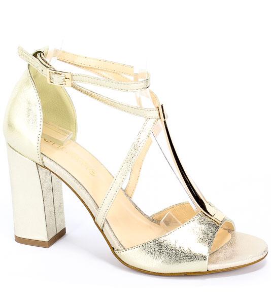 Sandały Uncome 28104 Platino