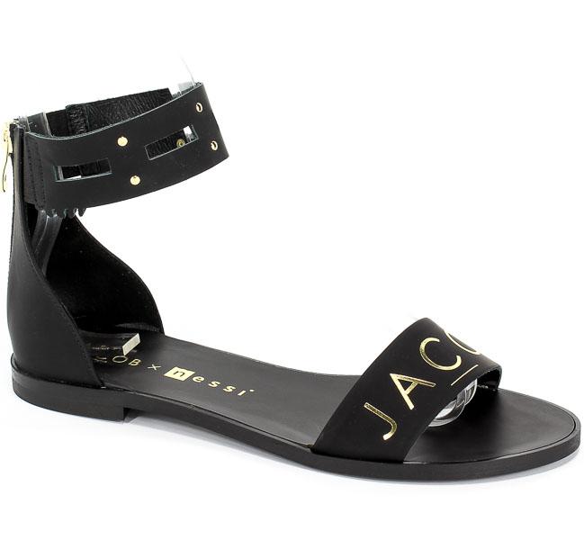 Sandały Nessi JC024 Czarny