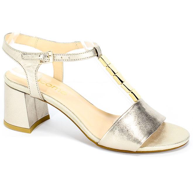 Sandały Uncome 28117 Platino