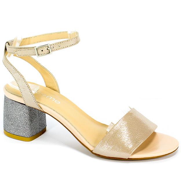 Sandały Uncome 28101 Beige
