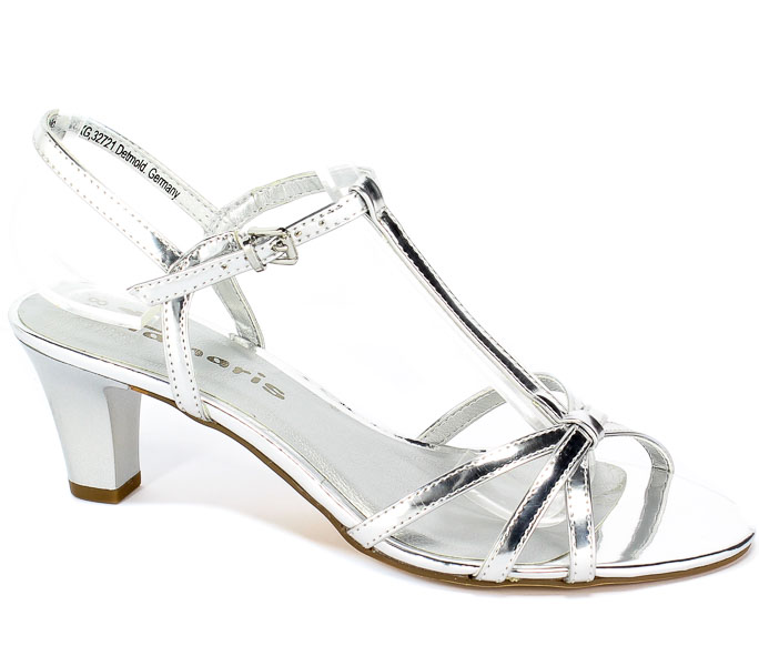 Sandały Tamaris 1-28329-22 941 Silver