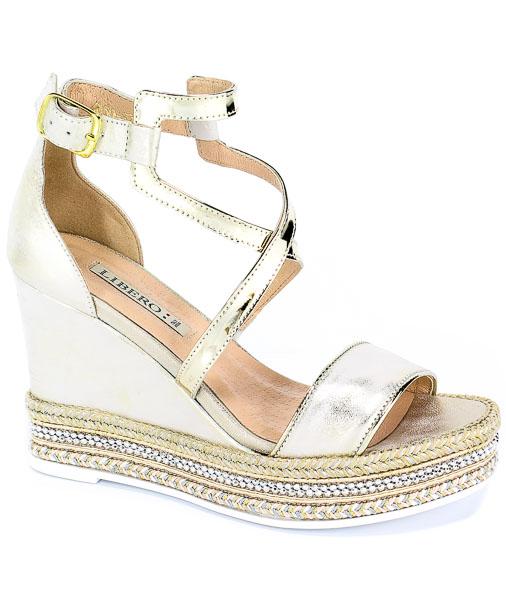 Sandały Euro Moda Lib 1030 100