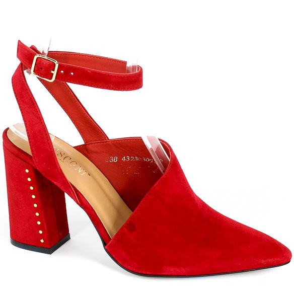 Sandały Visconi 4323302/200 Rosso Wel