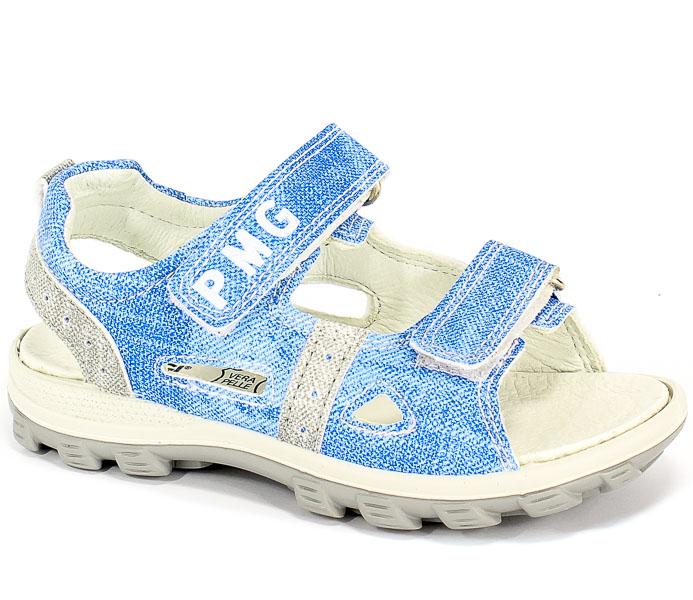Sandały Primigi 3396022 Si.Jeans Delav./Blue r.25-30