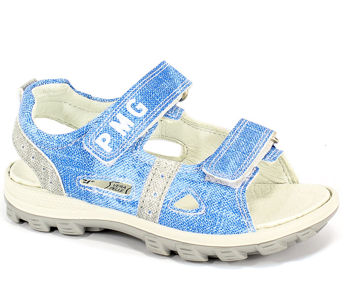 Sandały Primigi 3396022 Si.Jeans Delav./Blue r.31-35