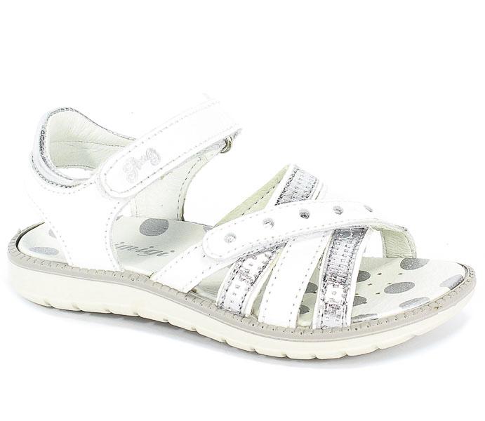 Sandały Primigi 3390044 Nappa/S.Lamin./Bianc r.25-30