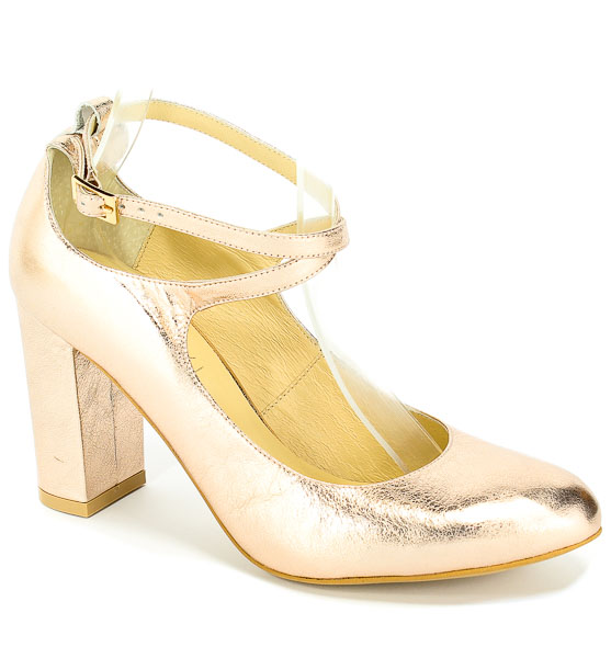 Sandały Kotyl 5914 Różowy złoty