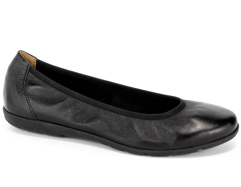 Baleriny Caprice 9-22150-23 022 Black Nappa