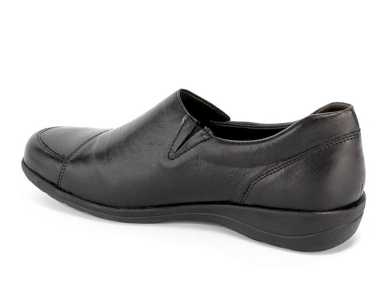 Półbuty Caprice 9-24601-23 022 Black Nappa
