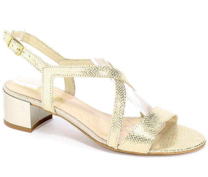 Sandały Lucca 707521 Złote Cętki