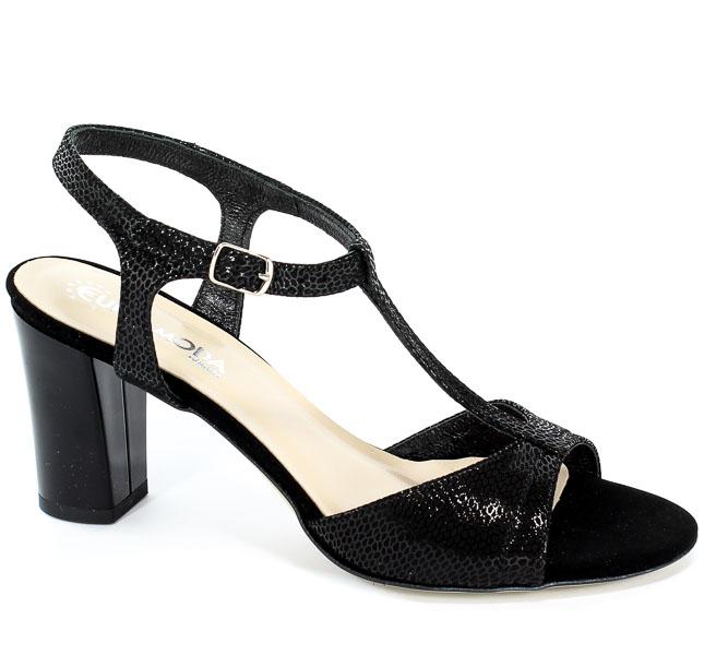 Sandały Lucca 3885 Czarny Tejus II