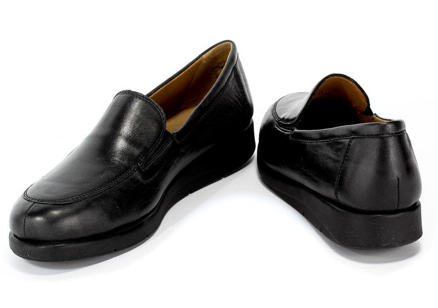 Półbuty Caprice 9-24750-23 016 Black Perlato Czarny