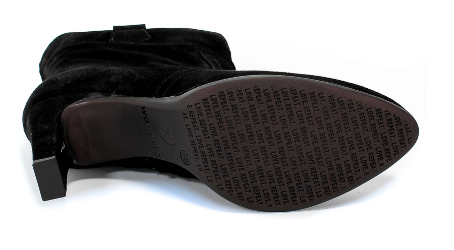 Botki Wonders M-4308 Dream Negro Czarny