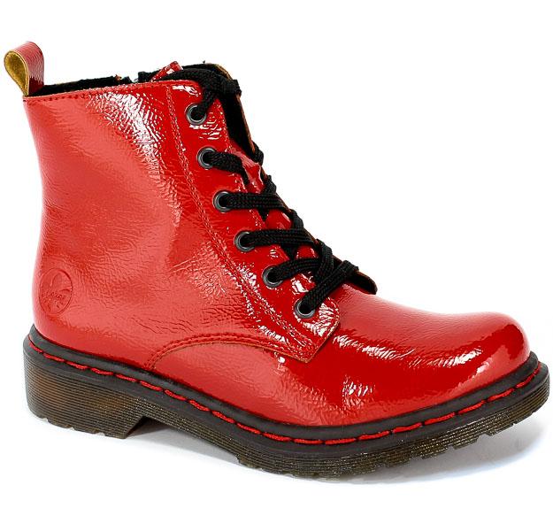 Trzewiki Rieker Y8210-33 Red Czerwony