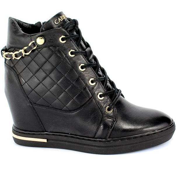 Sneakersy Carinii B5385-E50-000-000-B88 Czarny
