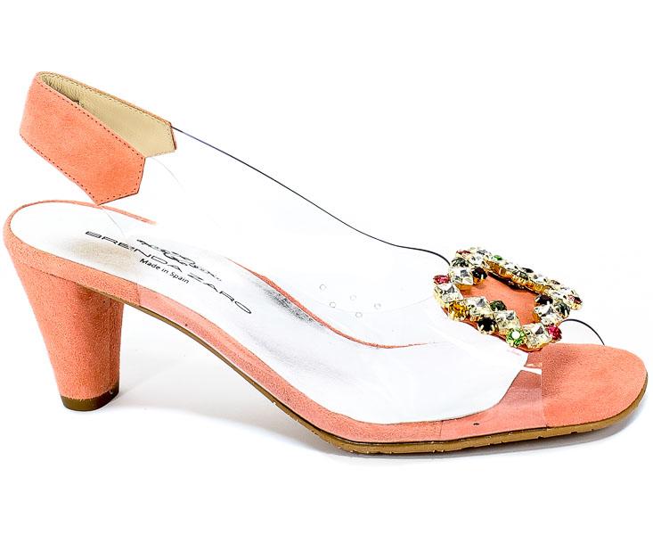 Sandały Brenda Zaro T3612 Vinilo H.Tauro