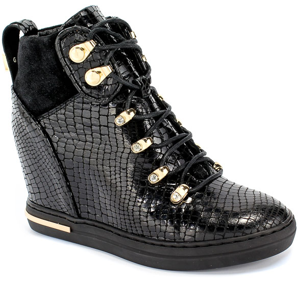 Sneakersy Carinii B5442-N65-H20-000-B88 Czarny Skóra