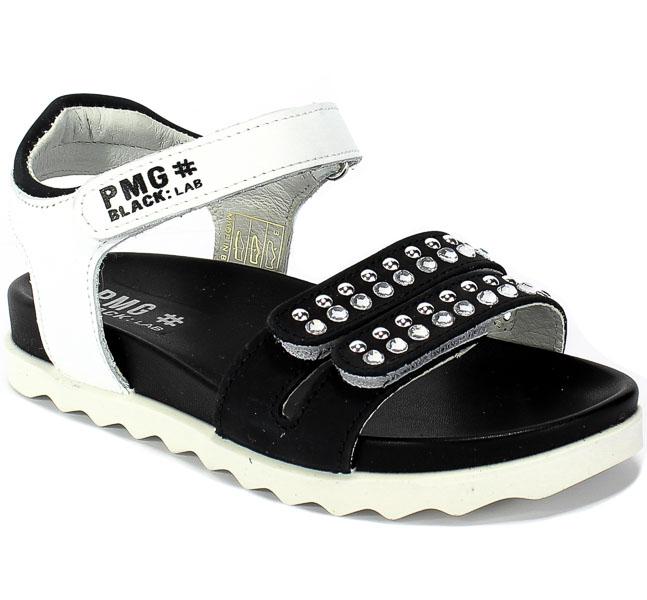 Sandały Primigi 5388100 Nappa/Nabuk/Bianco/N r.30-35
