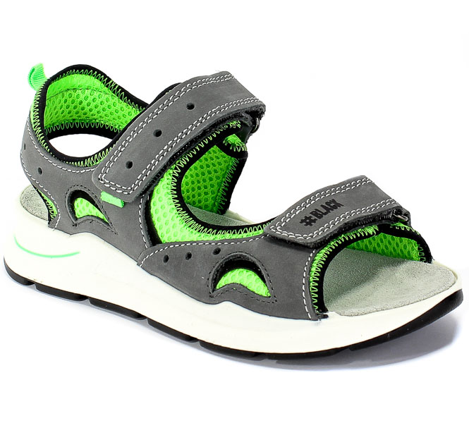 Sandały Primigi 5394111 Nabuk/Rete Air/Grig r.27-30
