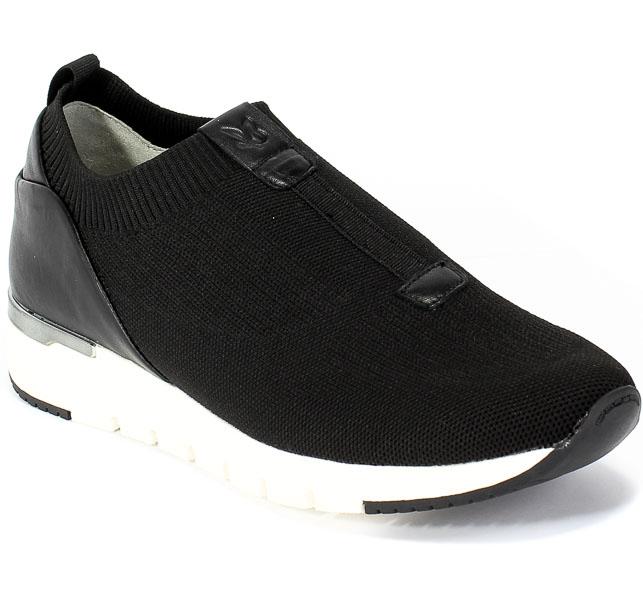 Półbuty Caprice 9-24720-25 025 Black/Black Czarny