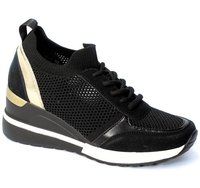 Sneakersy Vinceza 21-10592 BK Czarny