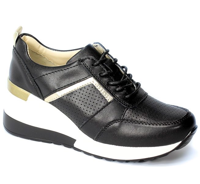 Sneakersy Vinceza 21-7791 BK Czarny