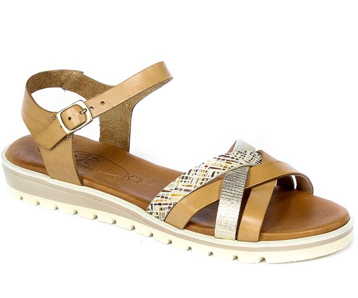 Sandały SPK Shoes 2150-F Vaq Dorian Rattan Hielo