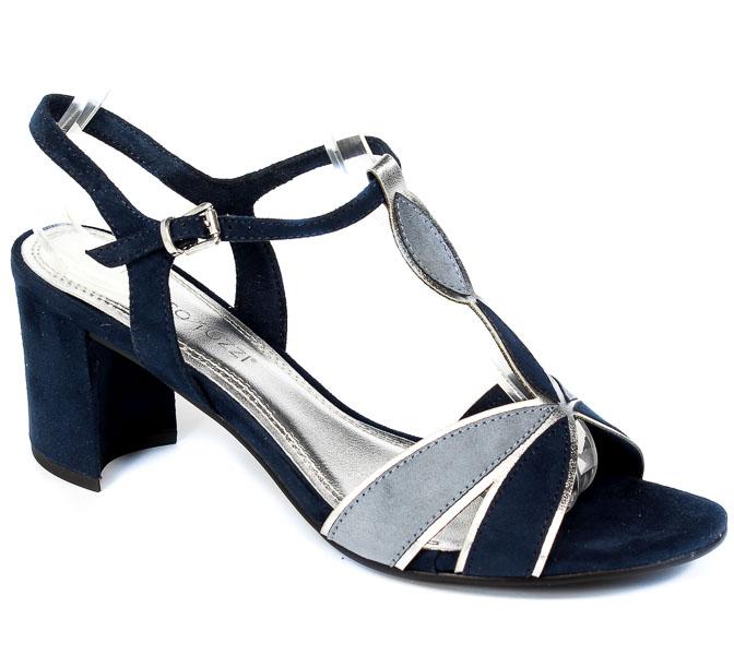 Sandały Marco Tozzi 2-28313-26 890 Navy Comb